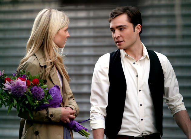 Video: Ed Westwick Kisses Clemence Poesy!