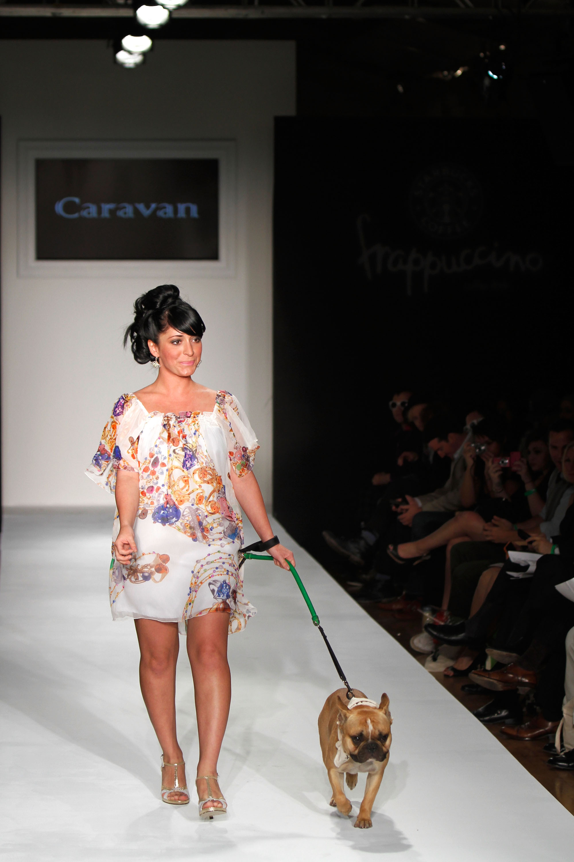 Angelina Pivarnick's Model Behavior at Fashion Week 2010