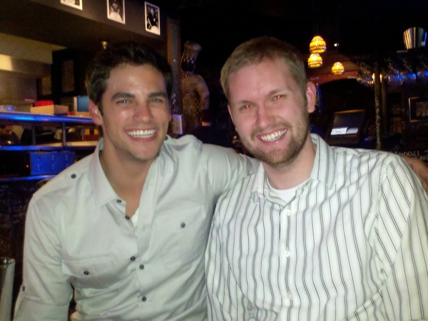 Photo of Brant Daugherty & his friend
