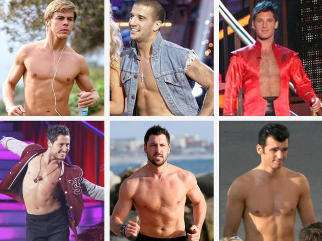 You Tell Us: Who Is the Sexiest Shirtless Pro On DWTS Season 13?