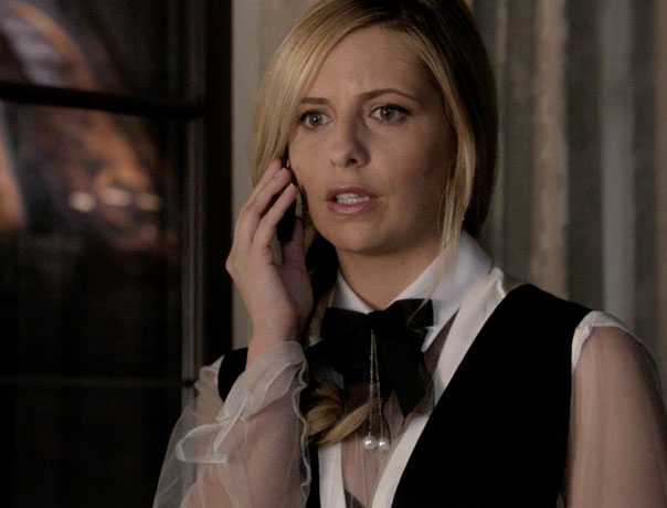 Ringer Fashion Report: Sarah Michelle Gellar Outfits From Episode 9