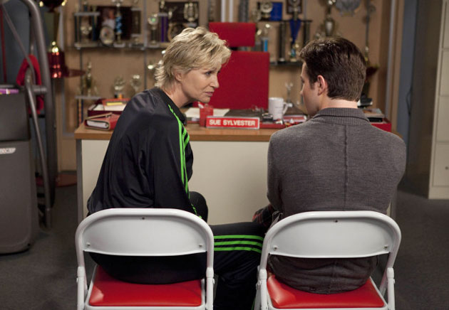 "Top 3 Most Outrageous Sue Moments from Glee Season 2, Episode 3: ""Grilled Cheesus"""