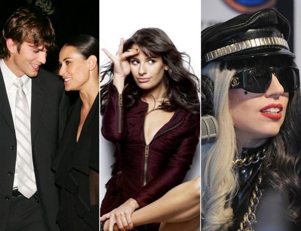 Lea Michele, Lady Gaga, Ashton & Demi Among Hollywood's Most Charitable of 2011