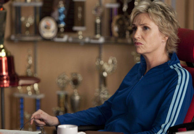 Sue Shoves a Guy Down the Stairs — Twice! Sue's Most Outrageous Moments From Glee Season 2, Episode 14