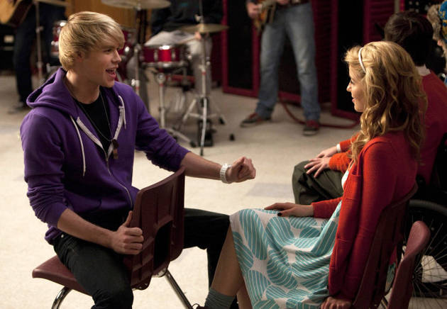"Sam Chooses Santana Over Quinn! Recap of Glee Season 2, Episode 13: ""Comeback"""