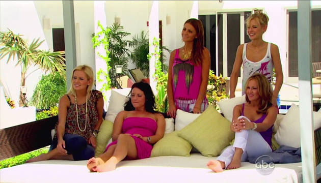 How To Get Emily Maynard's Striped Dress and Other Anguilla Fashions from The Bachelor 15, Episode 7