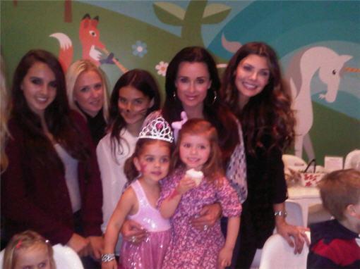 So Cute! Kyle Richards' Daughter Portia Turns 3