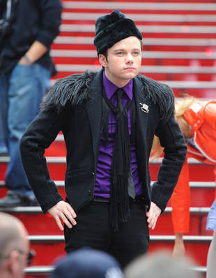 Chris Colfer Plots Kurt-Blaine Storyline for Glee Season 3