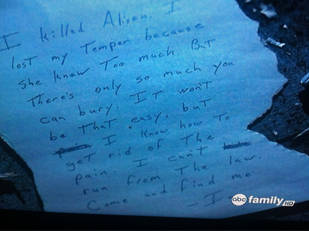 Read Ian's Suicide Note From Pretty Little Liars Season 2, Episode 4!