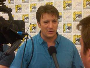 Nathan Fillion Talks Castle's New Captain at Comic-Con 2011