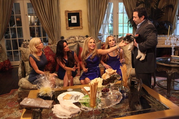 Paul and Adrienne Go At It! Top 4 OMG Moments from The Real Housewives of Beverly Hills Season 2, Episode 1