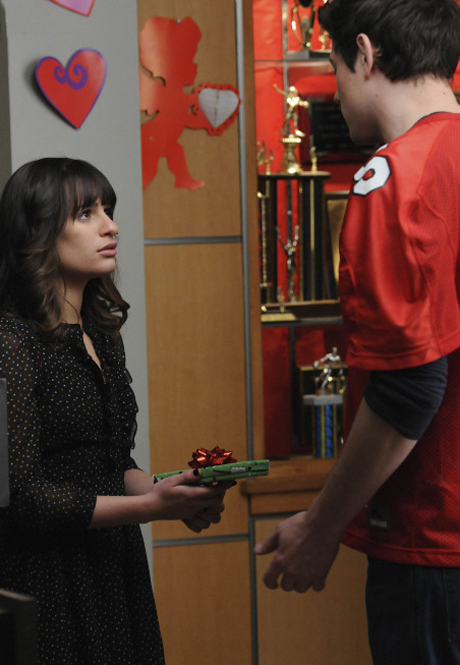 rachel and finn first meet