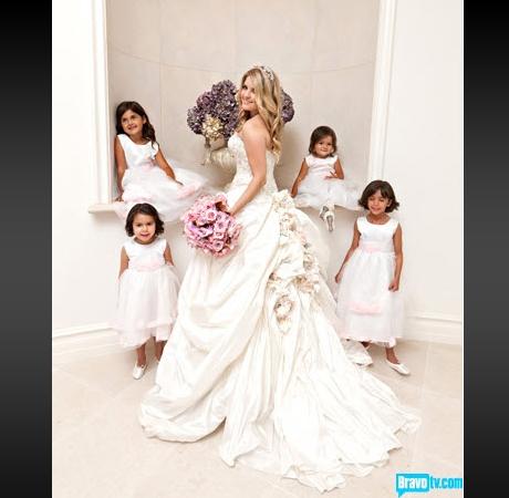 pandora vanderpump�s wedding dress hot or not
