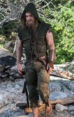 Oliver Queen Arrow Island Arrow Spoilers:...