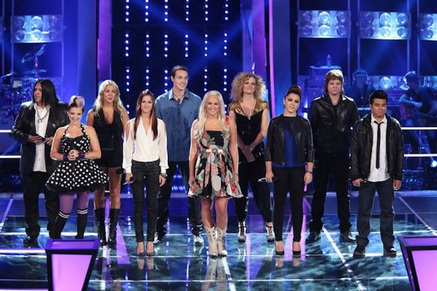 Who Got Eliminated During The Voice Knockout Round on Oct. 30, 2012?