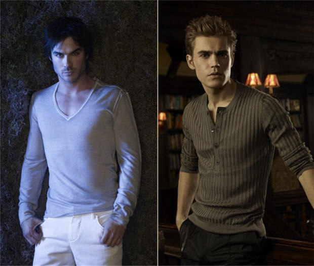 Vampire Diaries' Ian Somerhalder and Paul Wesley Are Two of the Sexiest Men of 2012