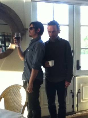 Norman Reedus and Andrew Lincoln Listen to This Song Before Shooting Violent Scenes on The Walking Dead Season 3