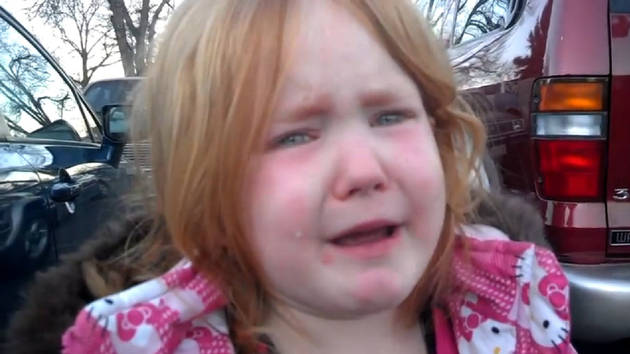 Watch 4-Year-Old Girl Sob Over Too Much Election Coverage (VIDEO)