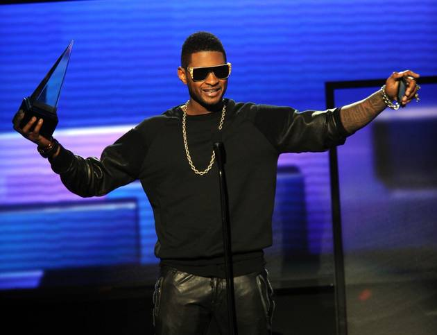 When Does Usher Go on Tour in 2012?