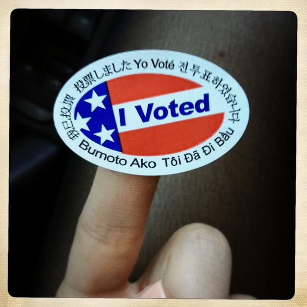 Glee Stars Vote! Darren Criss, Naya Rivera, and Dianna Agron Tweet Support of Election 2012