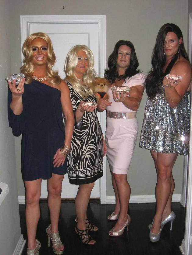 Men Dress Up As Real Housewives of Beverly Hills — LOL Pic of the Day