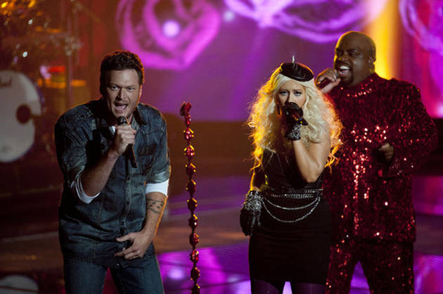 "Christina Aguilera and Blake Shelton Will Perform ""Just a Fool"" on The Voice Tonight, Nov. 19, 2012!"
