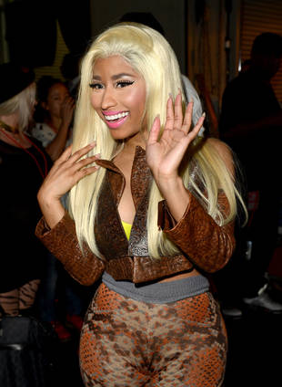 Who Out-Performed Nicki Minaj on the Billboard R&B and Hip-Hop Charts in 2012?