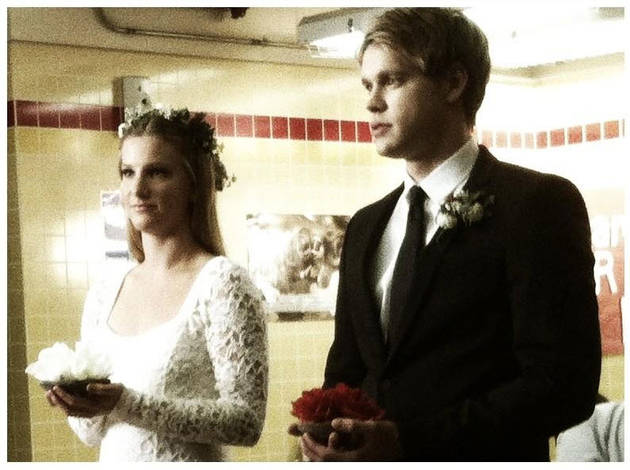 Did Brittany and Sam Actually Get Married on Glee Season 4?