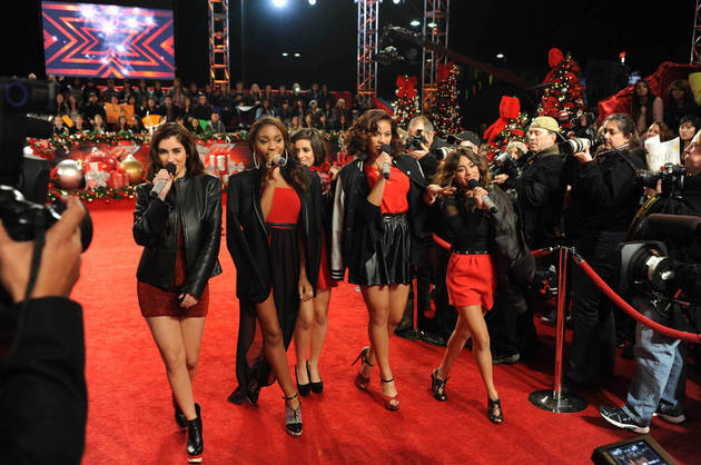 Fifth Harmony Finishes in Third Place on X Factor 2012!
