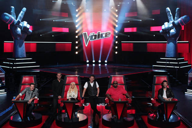 The Voice Re-Signs Cee-Lo Green, Adam Levine, and Blake Shelton for Season 3