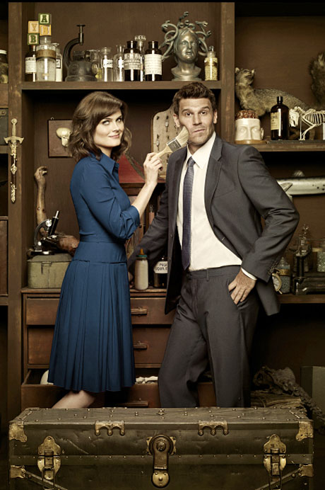 are david boreanaz and emily deschanel parents in real