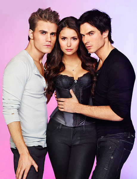 Bonus Photos From the Sexy Vampire Diaries Shoot For ...