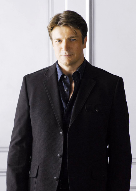 Castle's Nathan Fillion on LIVE! With Kelly Friday, May 4, 2012