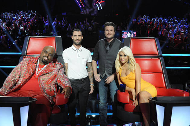 The Voice's Blake Shelton and Christina Aguilera Will Perform With Their Teams Tonight, April 16