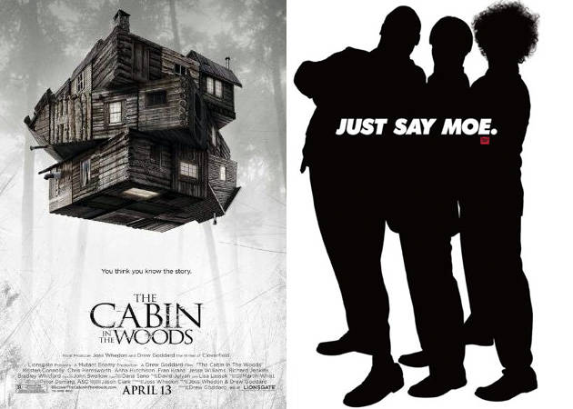 The Cabin in the Woods, The Three Stooges, Detention: Wetpaint Entertainment's Sexy-Not Sexy Weekend Movie Guide, 4/13
