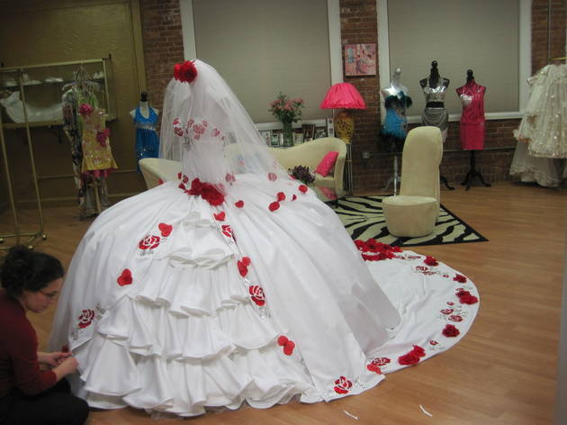 The biggest craziest dresses from my big fat american for Big gypsy wedding dresses for sale