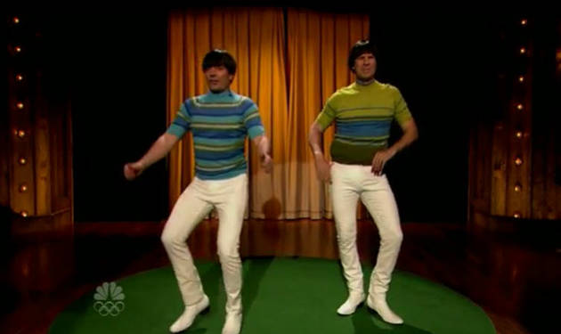 Must-Watch: Will Ferrell and Jimmy Fallon Have a Tight Pants Dance Off (VIDEO)
