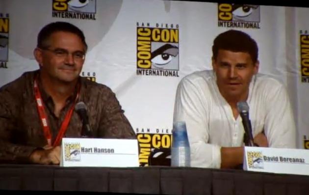 David Boreanez and Emily Deschanel Head To Comic-Con 2012!