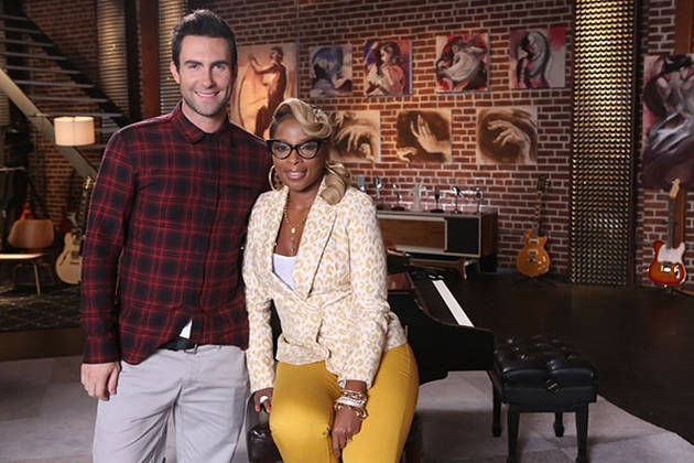 Mary J. Blige to Advise Team Adam Levine on The Voice Season 3