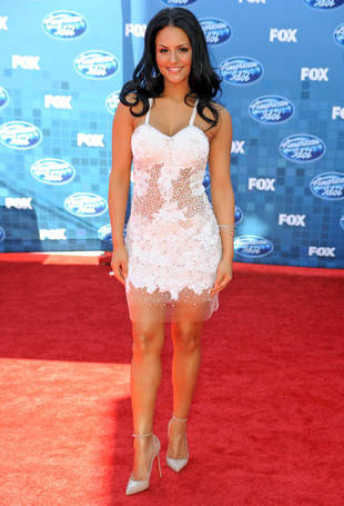 "Glee ""Absolutely Loved"" American Idol's Pia Toscano, But Will She Be on Season 4?"