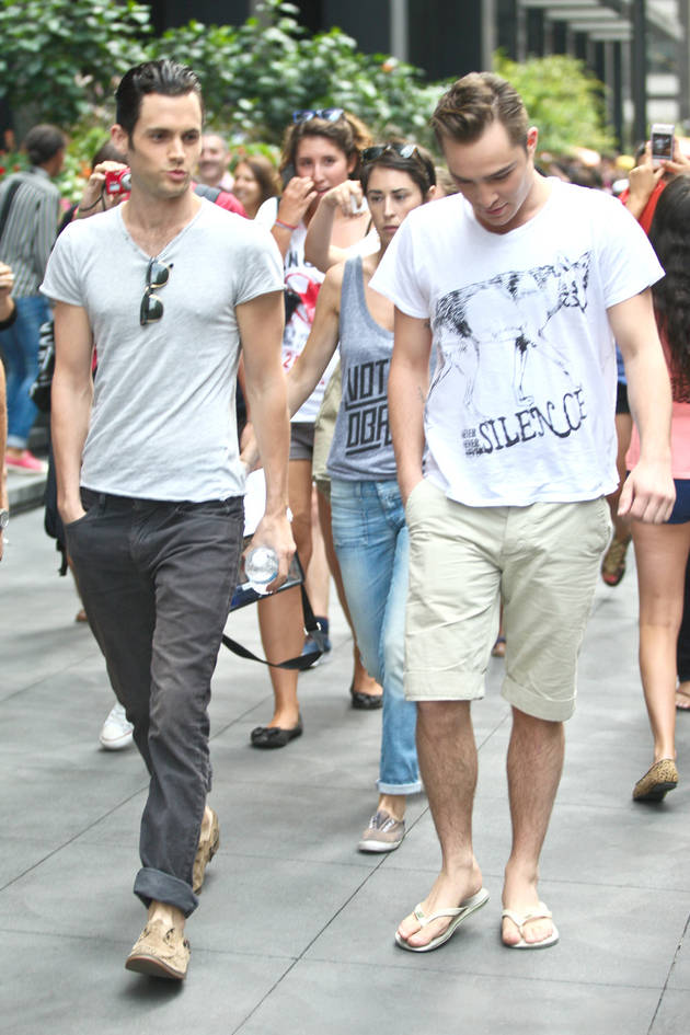 Spotted: Are Chuck and Dan Hanging Out Together in Gossip Girl Season 6?