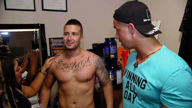 A Guide To The Jersey Shore Cast S Tattoos Photos