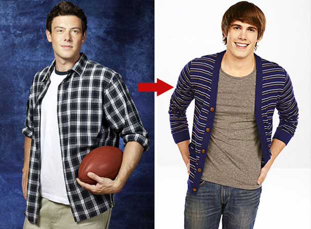 "Blake Jenner and Cory Monteith Tweet About ""Bromance"" on Glee Season 4"