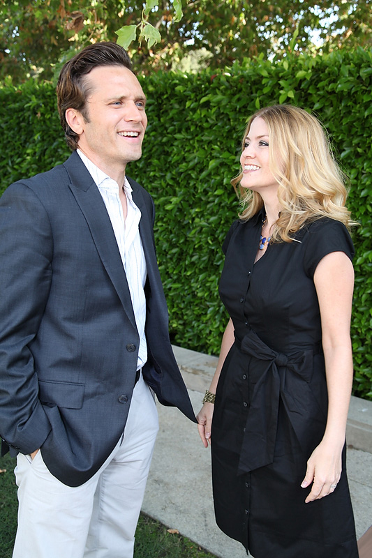 Seamus Dever and wife