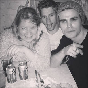 Julie Plec Parties With Hunky Paul Wesley and Sexy Shaun Sipos (PHOTO)