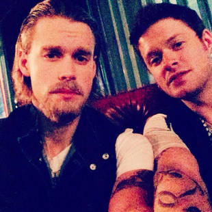 Chord Overstreet: Former 50 Shades of Grey Star Charlie Hunnam for Halloween!