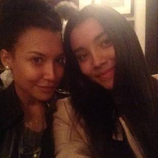 Glee's Naya Rivera and Her Model Sister Nickayla Go Makeup-Free