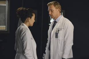 Grey's Anatomy Season 10, Episode 3 Sneak Peek: Cristina and Owen Flirt Amid Hospital Wreckage (VIDEO)