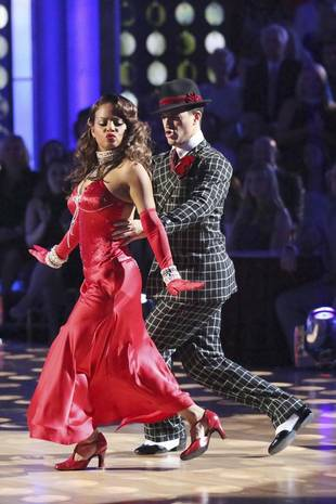Christina Milian Reacts to Last Night's Dancing With the Stars Elimination