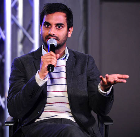"Aziz Ansari Reveals His Relationship Mantra: ""Keep Getting Divorced All the Time"""